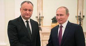 Путін  «тонко» заохочує  Президента Молдови  до висунення територіальних претензій   Україні