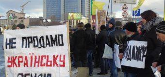 БИТВА  ЗА  УКРАЇНУ  РОЗПОЧАЛАСЯ: фермери Київщини зупинили кортеж Порошенка