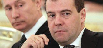 Медведєв  ПУБЛІЧНО заявив, що Путін намагається його прибрати як  Чуркіна